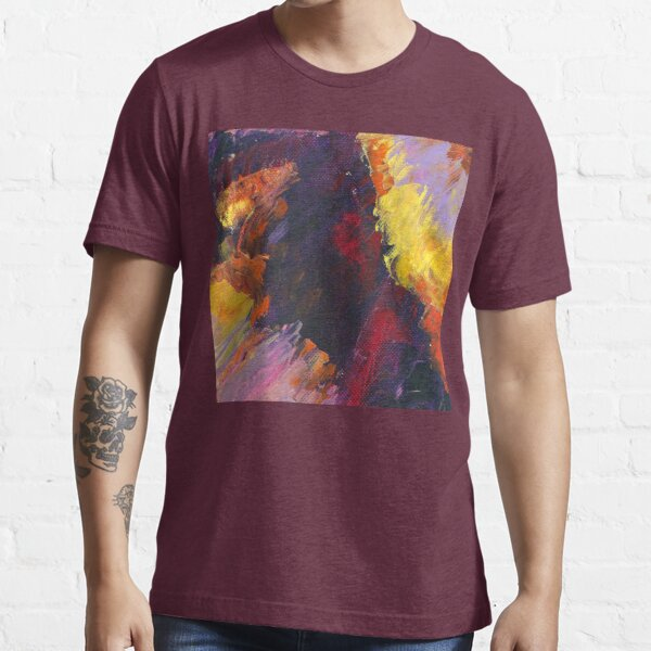 Fiery Horizon, Conscious, Colorful Abstract Landscape Art by Courtney Hatcher  Essential T-Shirt