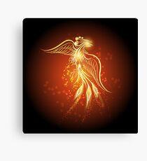 Rising phoenix Canvas Print