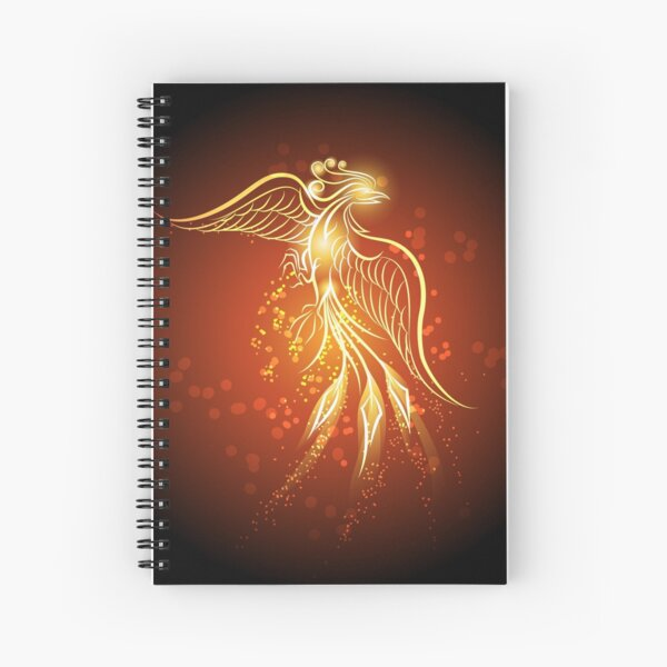 Rising phoenix Spiral Notebook
