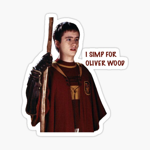 """Oliver Wood """" Sticker by bryttcampbell 