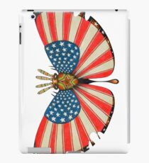 patriot moth - original sold iPad Case/Skin