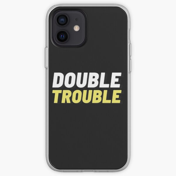 Double Trouble iPhone Soft Case