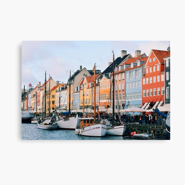Nyhavn in Copenhagen, Denmark Canvas Print