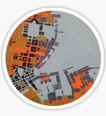 cipher n. 5 (original sold) Sticker