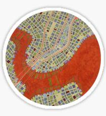Cipher n. 14  (original sold) Sticker