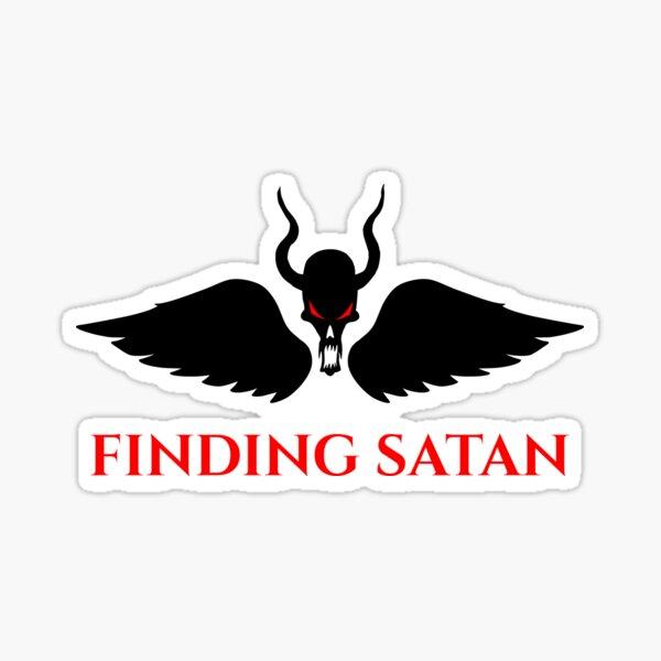 Finding Satan Logo Sticker