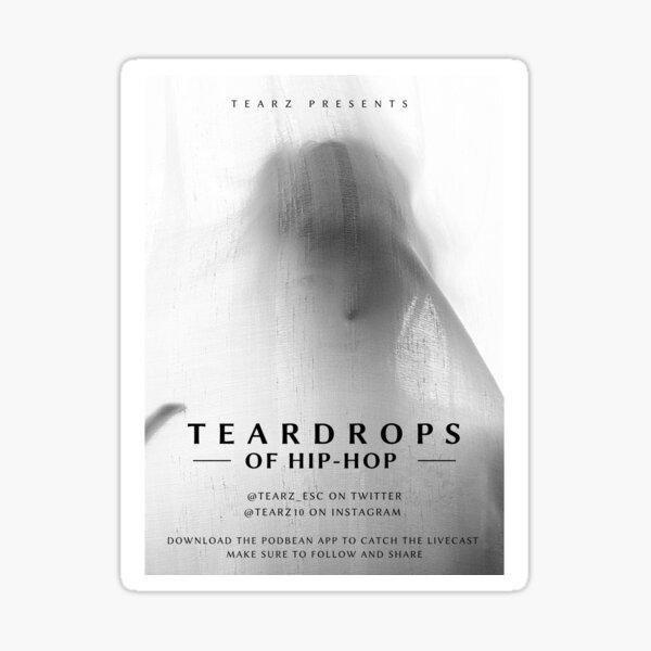 Teardrops feature presentation  Sticker