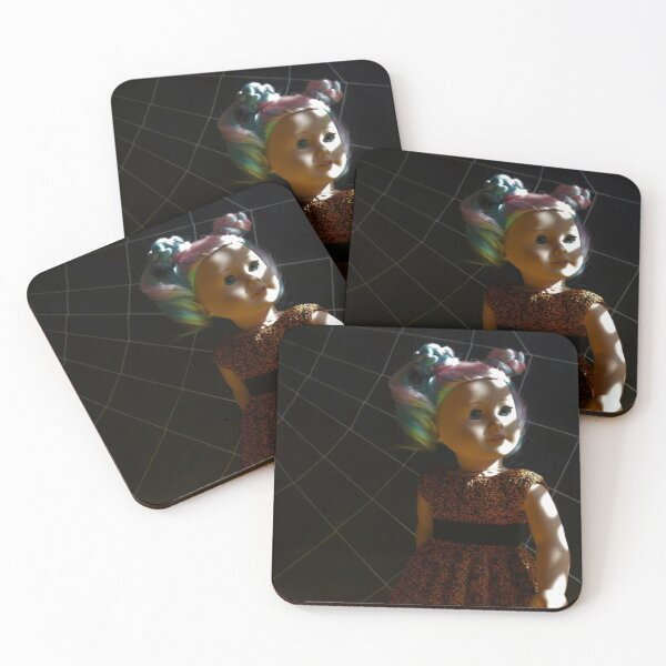 Looking to the Light Coasters (Set of 4)