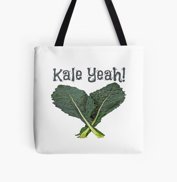 Kale Yeah! All Over Print Tote Bag