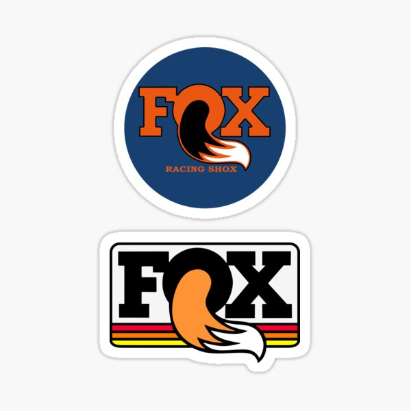 Retro Fox Racing Shirt, Sticker, Decal, Mask Sticker