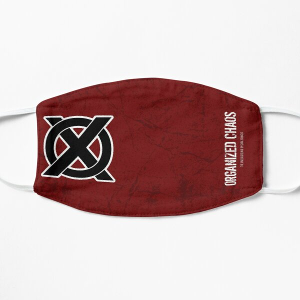 The Order of Xenophon - SINGLE LOGO 1 Flat Mask
