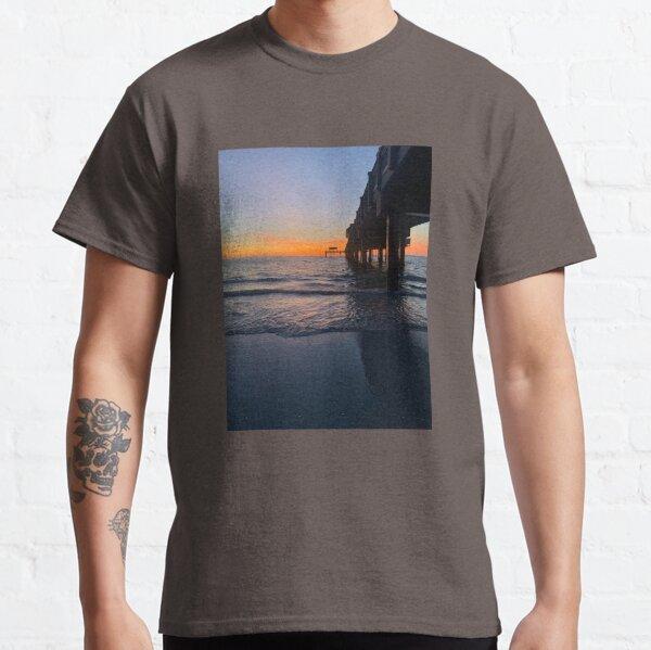 Sunset at Pier 60 Classic T-Shirt