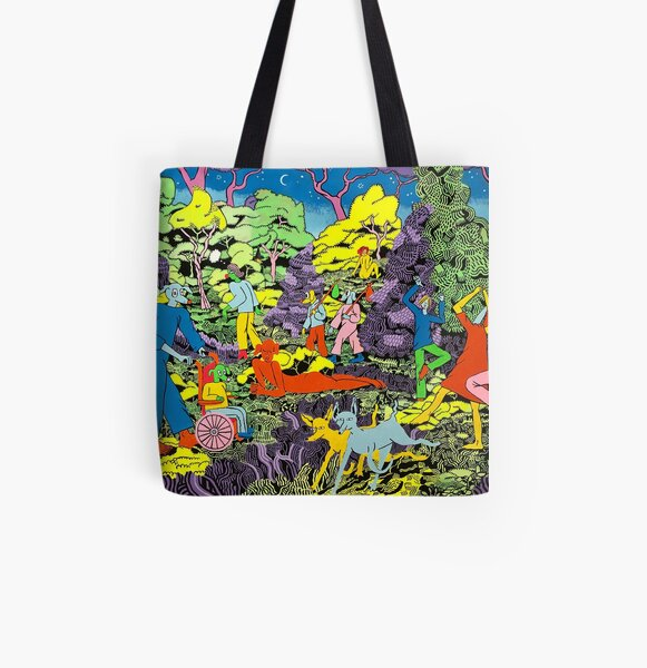 Red Rover and Friends All Over Print Tote Bag
