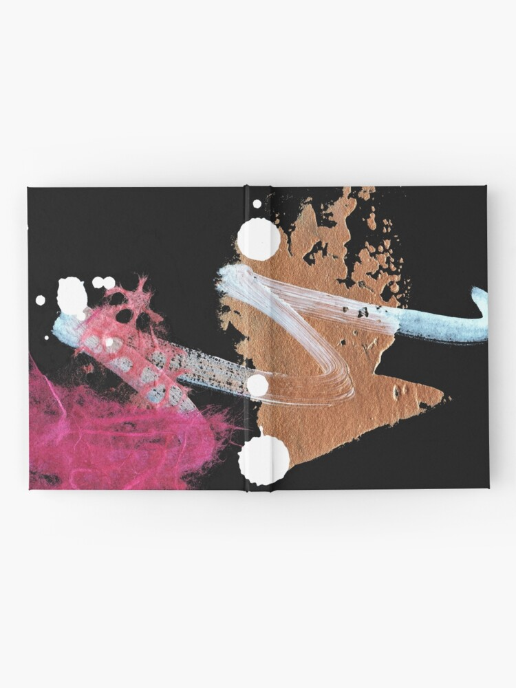 Alternate view of Pink Shadow I Hardcover Journal