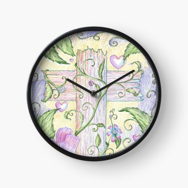 The Beauty of the Cross Clock