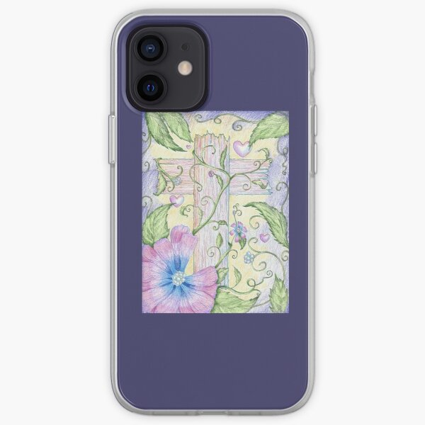 The Beauty of the Cross iPhone Soft Case