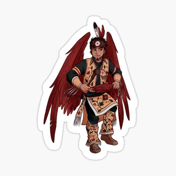 Powwow Hawks Sticker