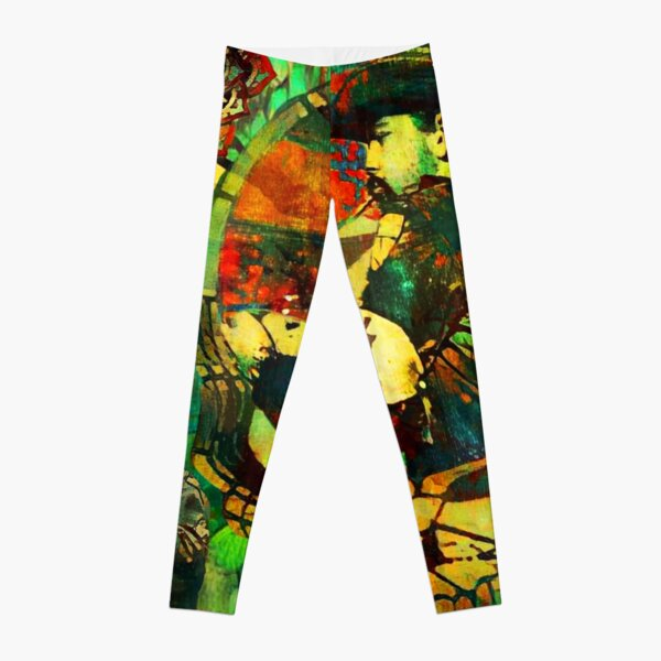 Was and Is N0w F0rever Leggings