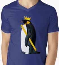 Emperor Penguin Men's V-Neck T-Shirt