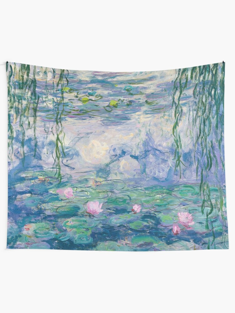 Alternate view of Water Lilies Claude Monet Fine Art Tapestry