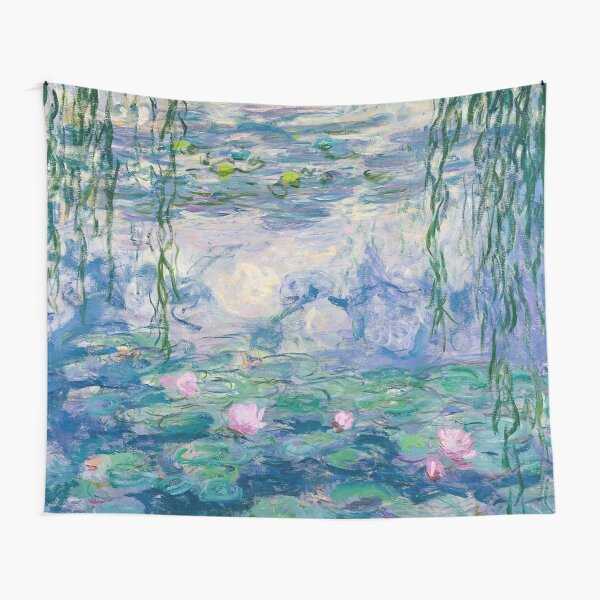 Water Lilies Claude Monet Fine Art Tapestry