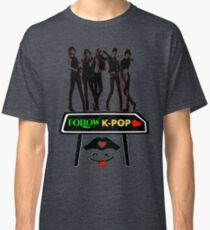 ♥♫Follow K-Pop Splendiferous K-Pop Clothing & Phone/iPad/Tablet/Laptop Cases & Stickers & Bags & Home Decor & Stationary♪♥ Classic T-Shirt