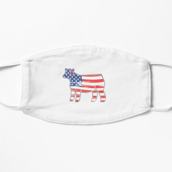 American Heifer Flat Mask