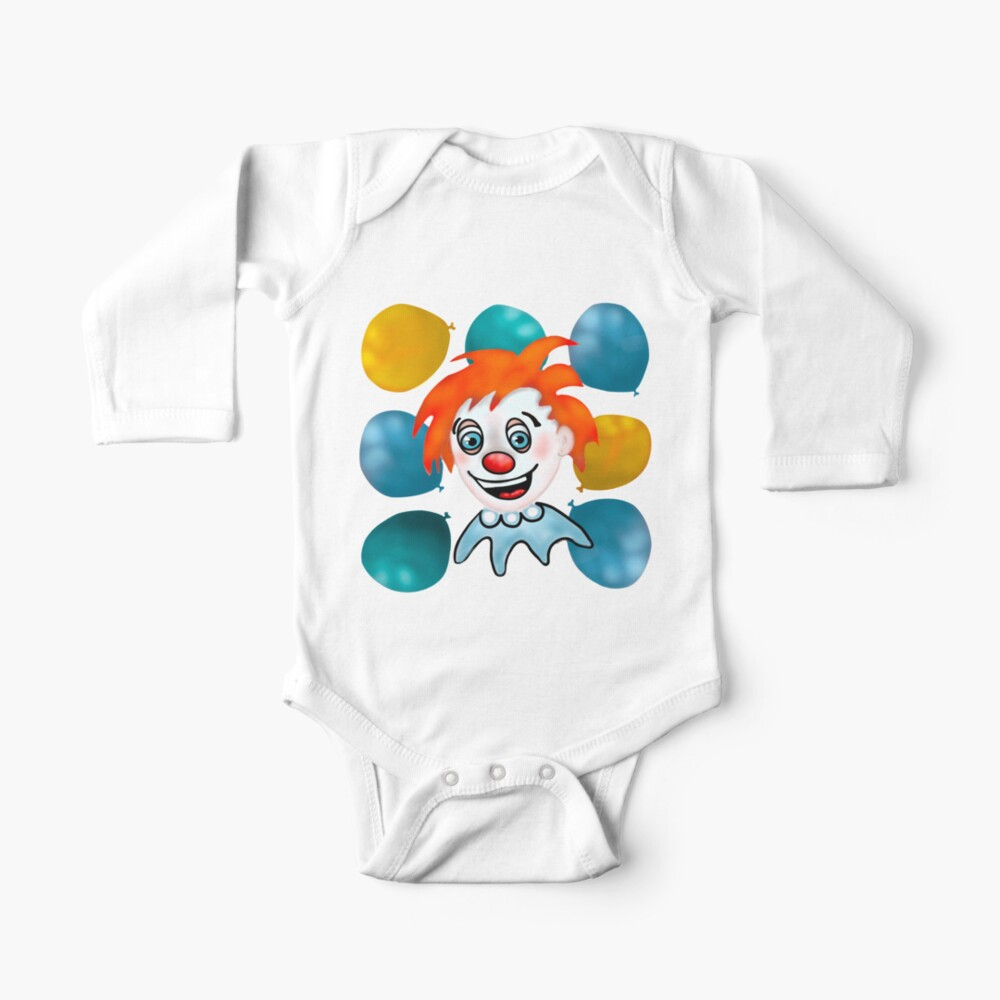 Mitzi the Happy Clown Baby One-Piece