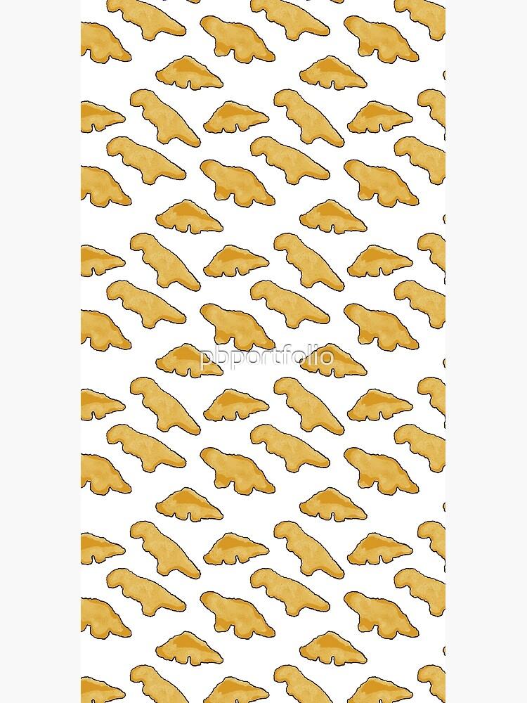 Dino Chicken Nuggets Pattern by pbportfolio