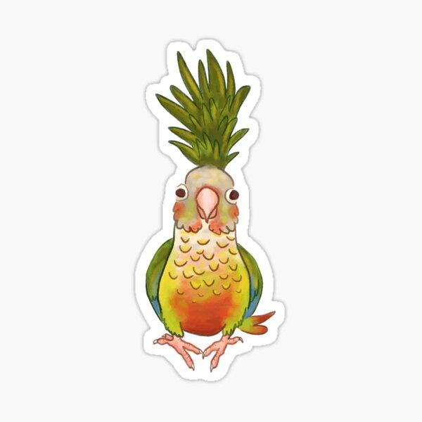 Pineapple Conure Sticker