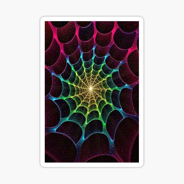 Cobweb, subtle natural work of art Sticker