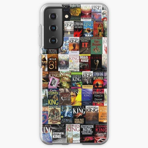 Stephen King Books Collage Samsung Galaxy Soft Case
