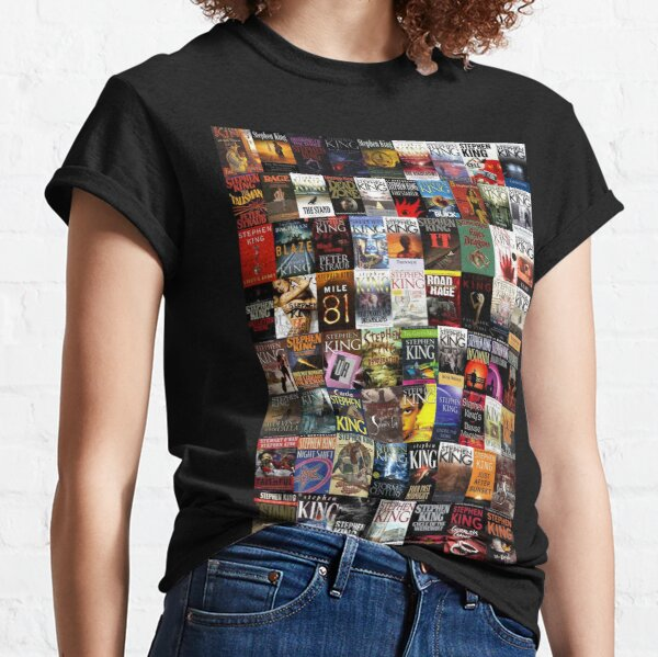 Stephen King Books Collage Classic T-Shirt