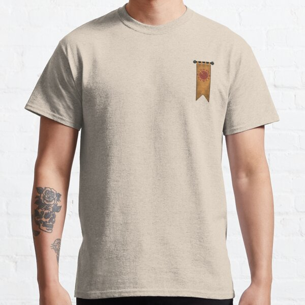 WesterosCraft Sun Pixel Art Sigil Banner Classic T-Shirt