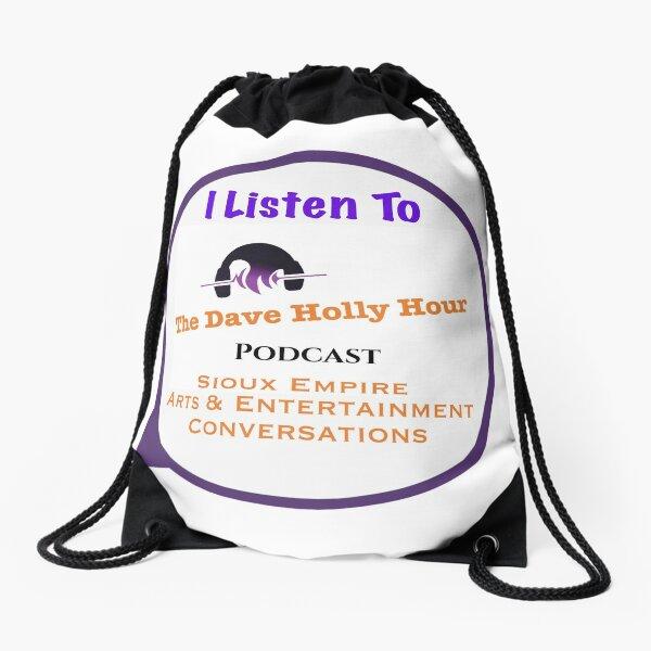 DHHP I Listen Drawstring Bag