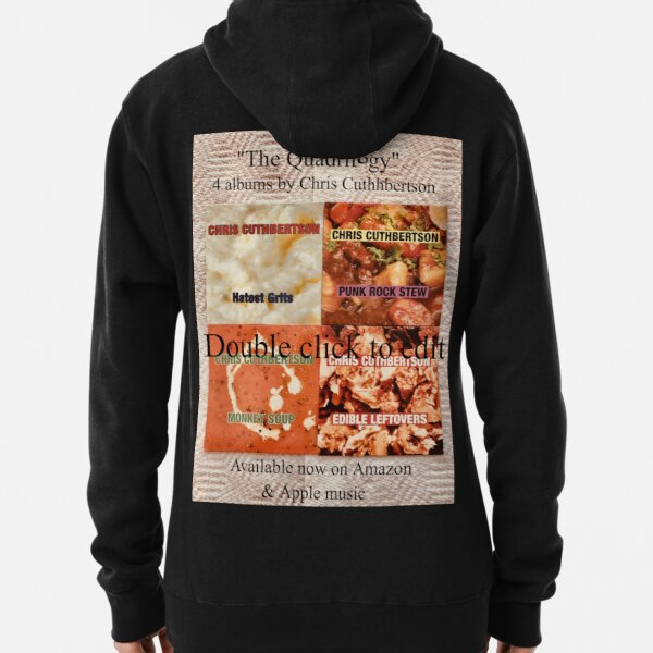 22nd Unique T-Shirt design by British Singer/Songwriter Chris Cuthbertson Pullover Hoodie