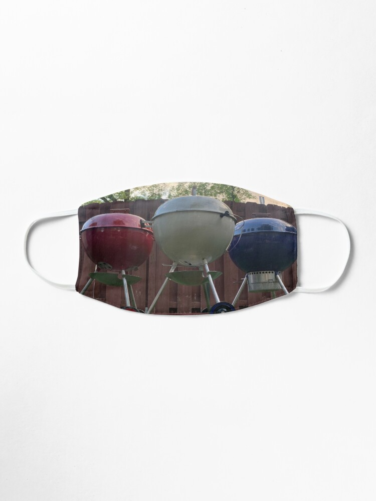 Alternate view of American Grillin' Mask