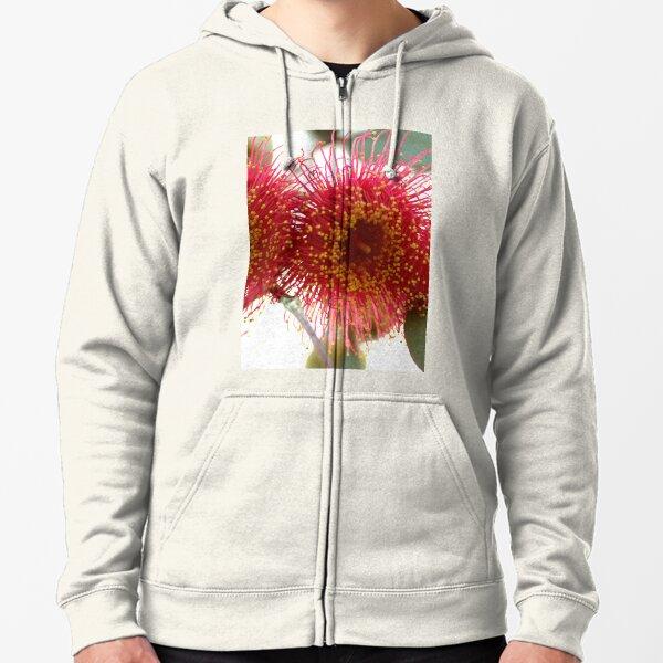 Corymbia ficifolia Red flowering Gum Zipped Hoodie