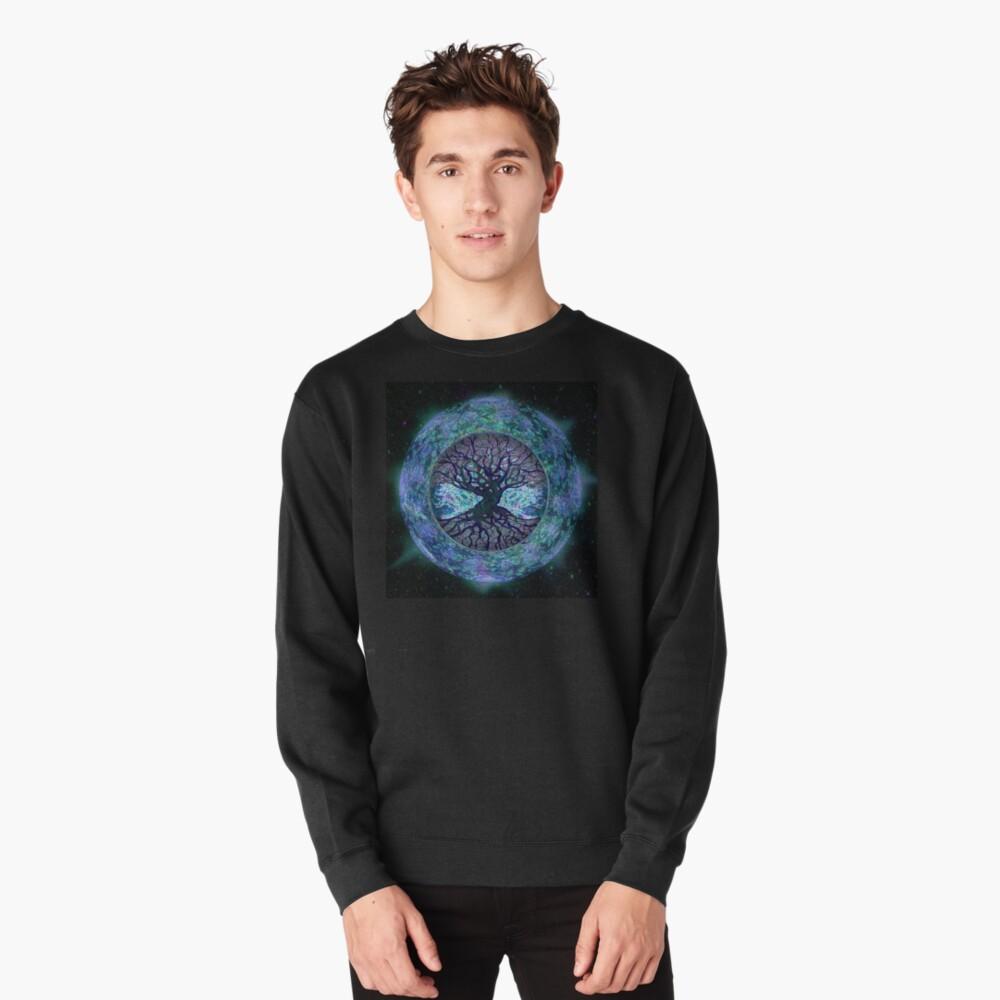 Planet Earth Circle of Life Pullover Sweatshirt
