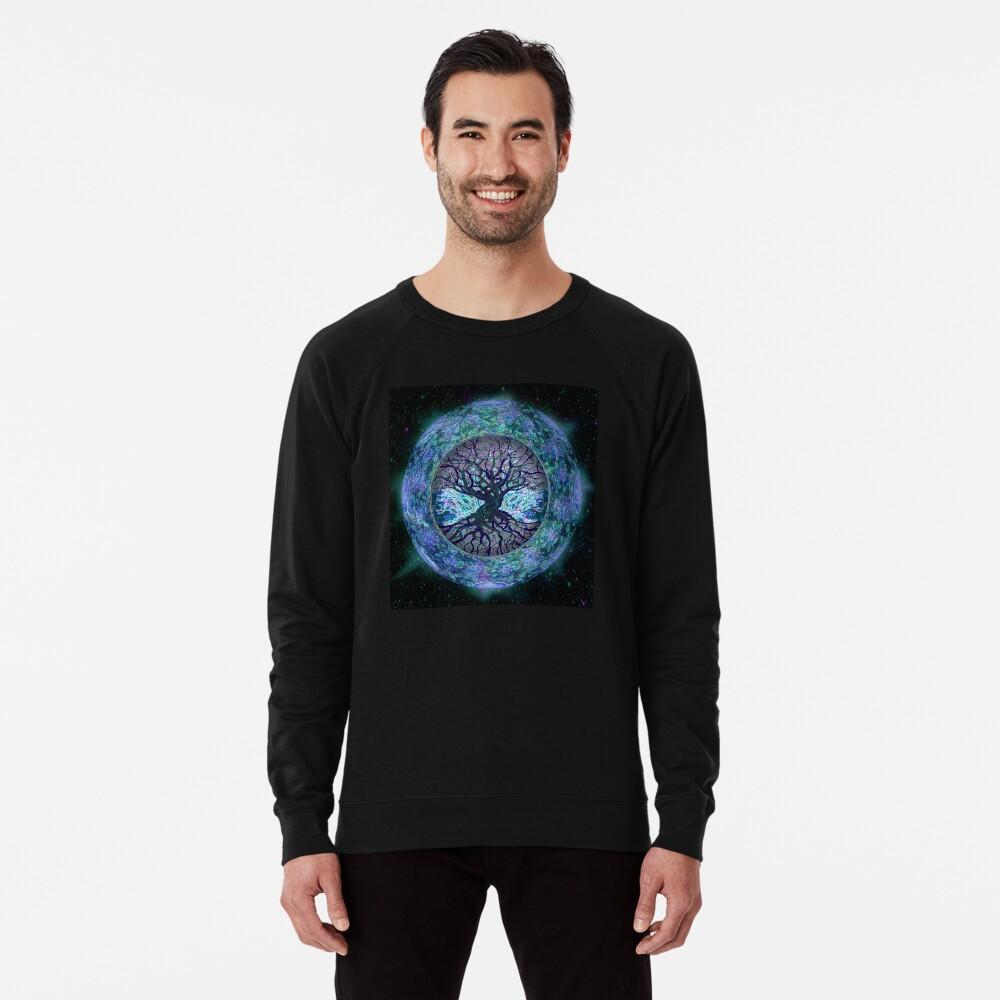 Planet Earth Circle of Life Lightweight Sweatshirt