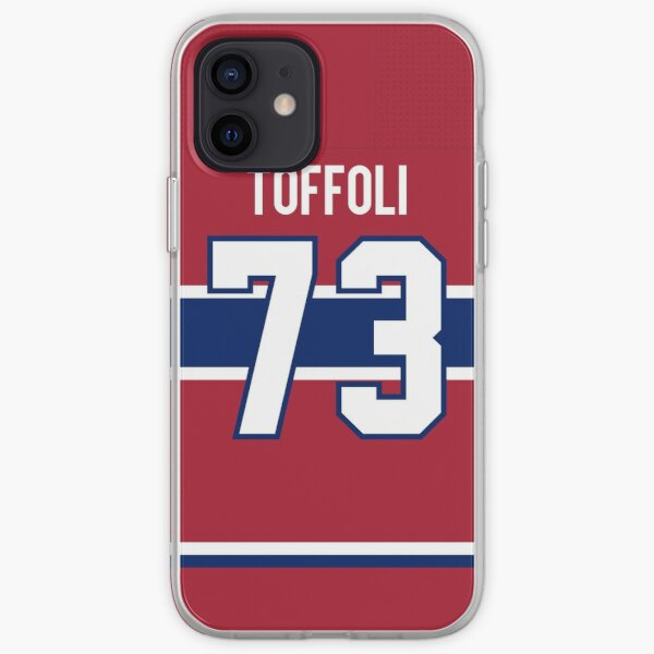 Montreal Canadiens Tyler Toffoli Home Jersey Back Phone Case iPhone Soft Case
