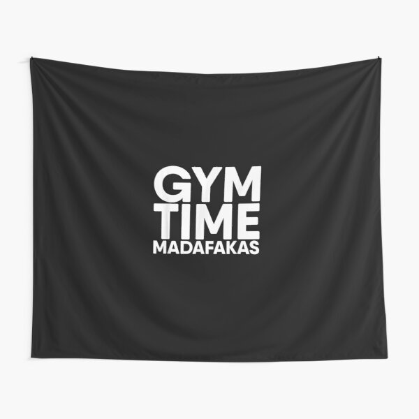 Gym for Men Women Bodybuilding Muscle Funny best design Tapestry