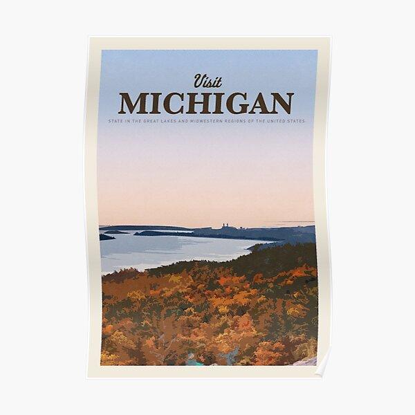 Visit Michigan    Poster