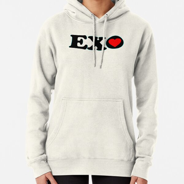 ♥♫I Love EXO Fabulous K-Pop Clothes & Stickers♪♥ Pullover Hoodie