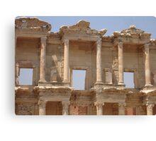 Ephesus - Library Facade Canvas Print