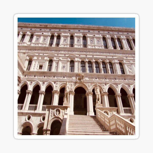Palazzo Ducale in Venice Sticker
