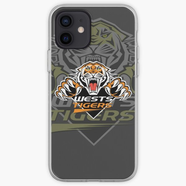 NRL wests tigers iPhone Soft Case