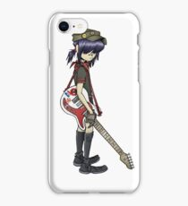 gorillaz noodle iPhone Case/Skin