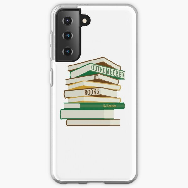 Outnumbered by Books  Samsung Galaxy Soft Case