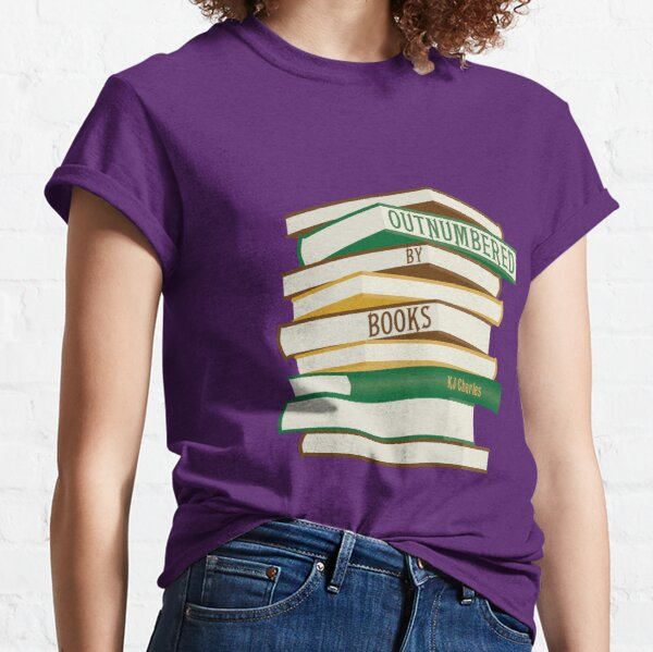 Outnumbered by Books  Classic T-Shirt